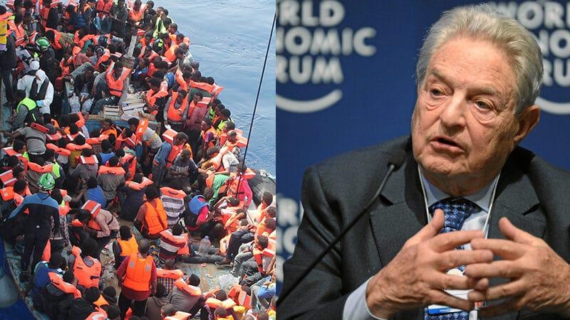 Associations, Soros et médias... tous unis contre Frontex et la défense des frontières européennes