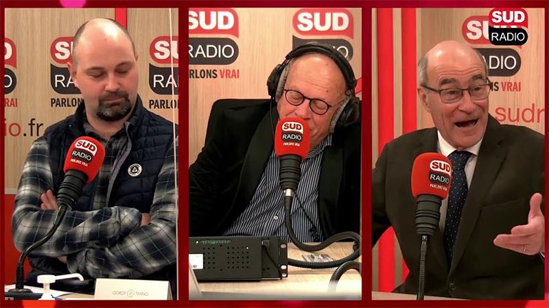 Immigration, Covid-19, vaccin… Jean-Yves Le Gallou face à Thomas Guénolé sur Sud Radio