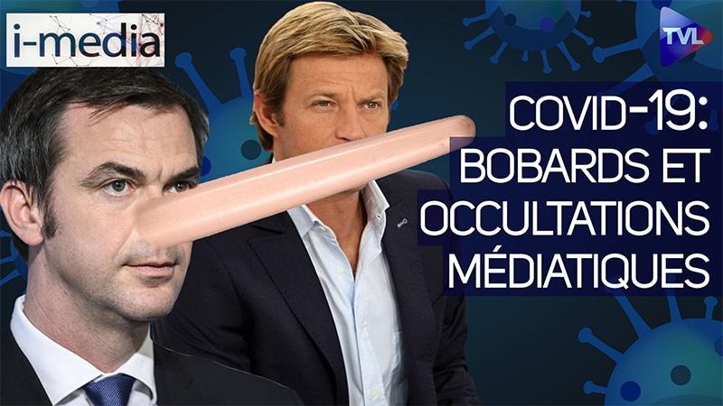 I-Média n°334 – Covid-19 : Bobards et occultations médiatiques