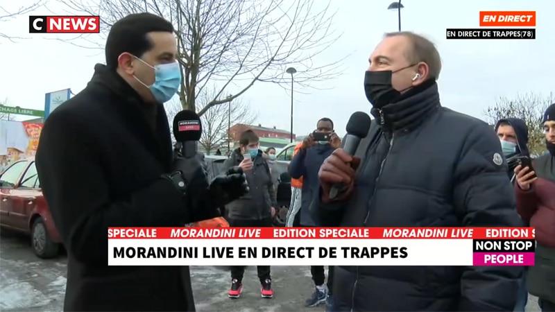 Morandini à Trappes : la taqiya en direct