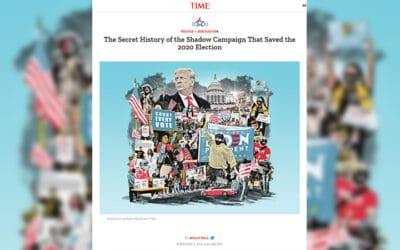 Victoire de Biden : le Time avoue la conspiration contre Trump
