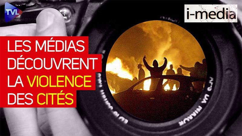I-Média n°338 – Les médias découvrent la violence des cités