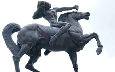 Les indigénistes de Chicago à l'assaut des Indiens du sculpteur croate Meštrović