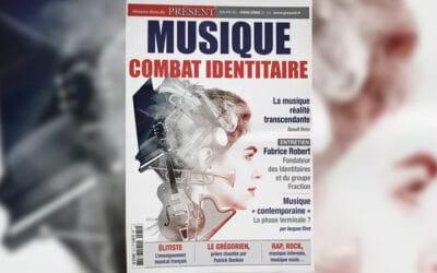 La musique et le combat identitaire – Un hors-série de « Présent »