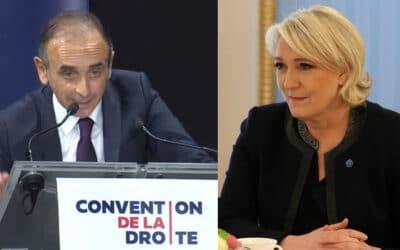 La candidature d'Éric Zemmour, une chance pour Marine Le Pen ?