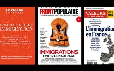 Trois revues consacrées à l'immigration, un même constat d'urgence