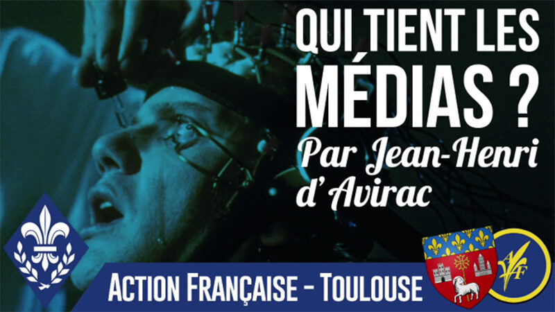 « Qui tient les médias ? » Conférence de Jean-Henri d'Avirac