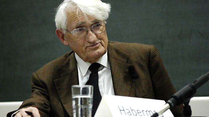 Habermas et l'hypothèque idéologique allemande