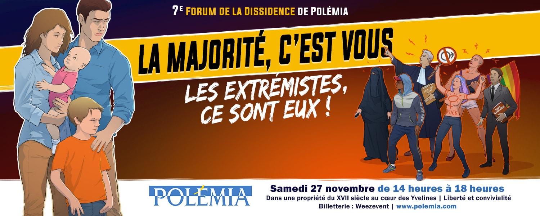 7e Forum de la dissidence Polemia